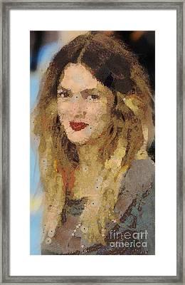 Drew Berrymore Framed Print