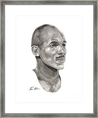 Drexler Framed Print by Tamir Barkan