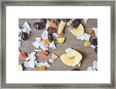 Dried Fruit Framed Print by Tom Gowanlock