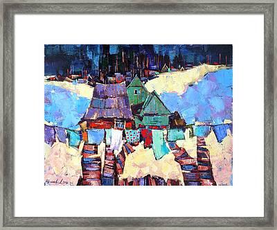Dried Prior To April Framed Print by Anastasija Kraineva