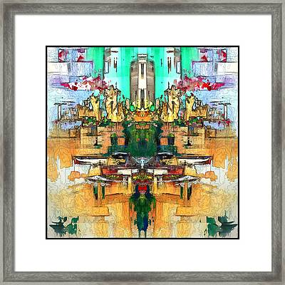 Dries Call 7 Framed Print
