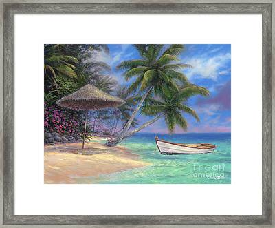 Drift Away Framed Print by Chuck Pinson