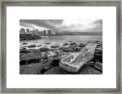 Framed Print featuring the photograph Drift Wood by Robert  Aycock