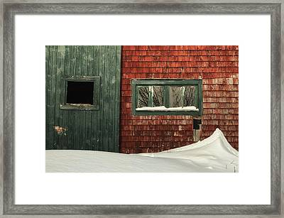 Drifted In Framed Print by Susan Capuano