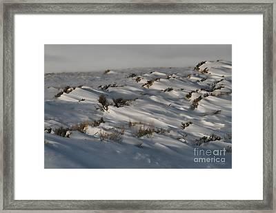 Drifting Around Framed Print by Edward R Wisell