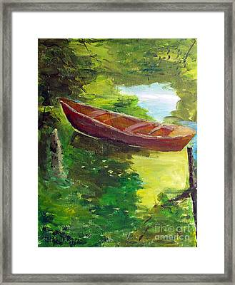 Drifting Framed Print by Charlie Spear