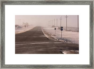 Drifting County 23 Framed Print by Wayne Vedvig
