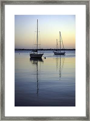 Drifting Sunrise Framed Print