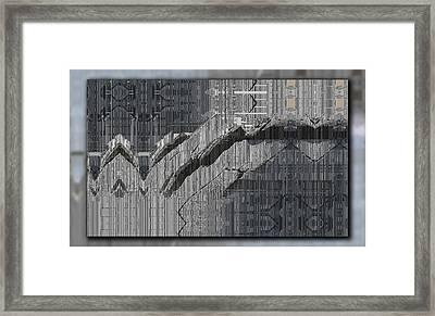 Drifting Framed Print by Tim Allen