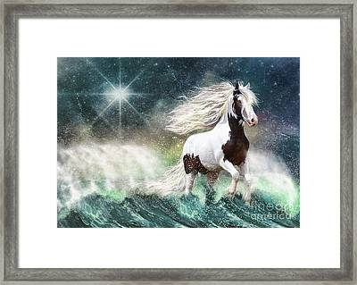 Drifting With The Tides Framed Print by Trudi Simmonds