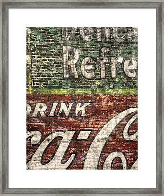 Drink Coca-cola 1 Framed Print by Scott Norris