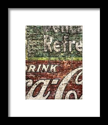 Brick Framed Prints