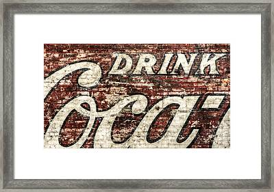 Drink Coca-cola 2 Framed Print
