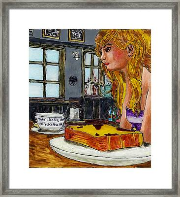 Drink Coffee Framed Print