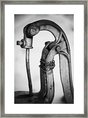Drink From The Well Framed Print by Christi Kraft