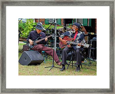 Drink Small The Blues Doctor 1 Framed Print by Joseph C Hinson Photography