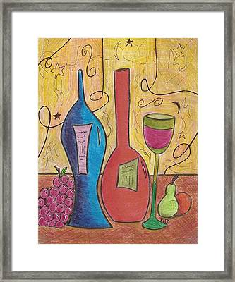 Drinking Alone Framed Print