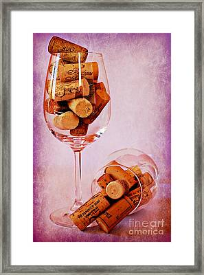 Drinking Problem Framed Print by Clare Bevan