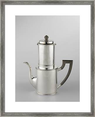 Drip Filter Coffee Pot Framed Print