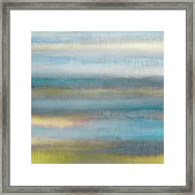 Dripscape 7 - 2 Framed Print by Cora Niele
