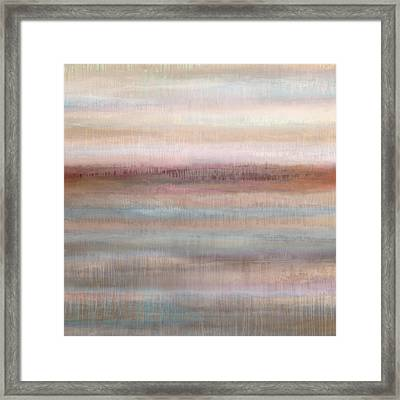Dripscape Vi Framed Print by Cora Niele