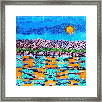 Drive 75 Palm Springs Auto Biography Framed Print by Randall Weidner