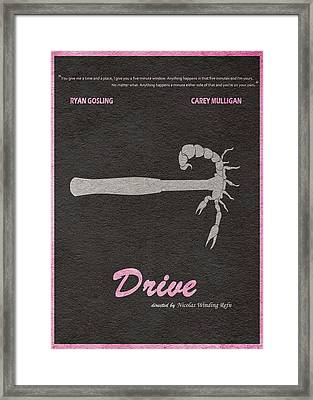 Drive Framed Print by Ayse Deniz