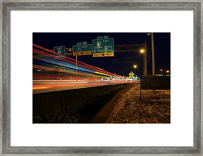 Drive By Framed Print by Andrea Galiffi