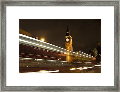 Drive By Ben - England Framed Print by Mike McGlothlen