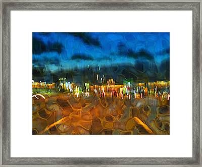 Drive By Night Framed Print by Wendy J St Christopher