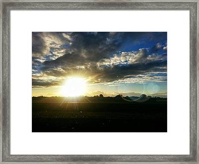 Drive By Framed Print by Quincy Casey