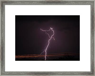 Drive By Shooting Framed Print