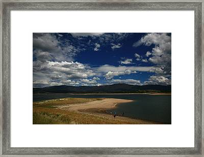 Drive By Viewing Framed Print
