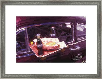 Drive-in Coke And Burgers - 2 Framed Print by Paul W Faust -  Impressions of Light