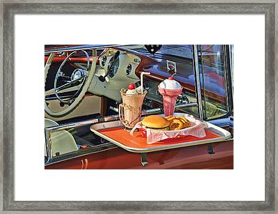 Drive-in Memories Framed Print by Kenny Francis