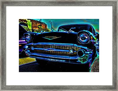 Drive In Special Framed Print