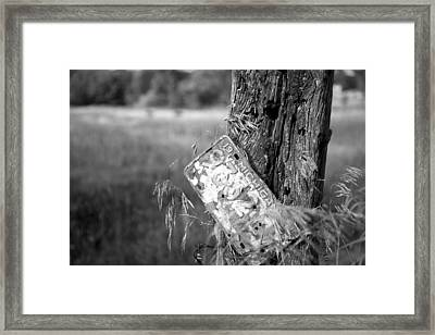 Framed Print featuring the photograph Drive Me Home by John Crothers