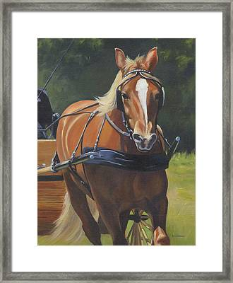 Drive On Framed Print