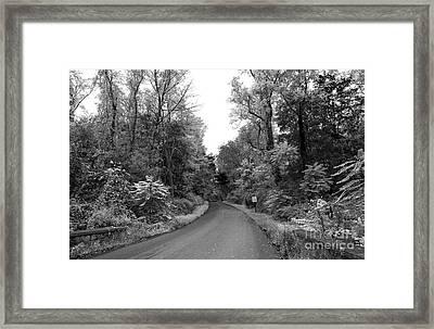 Drive Through The Skylands Framed Print by John Rizzuto