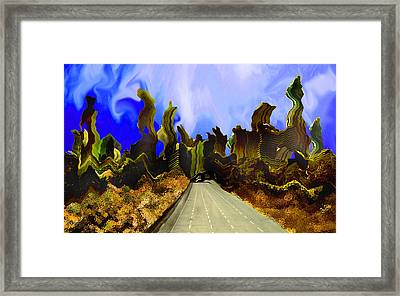 Drive Thru 1 Framed Print by Bruce Iorio