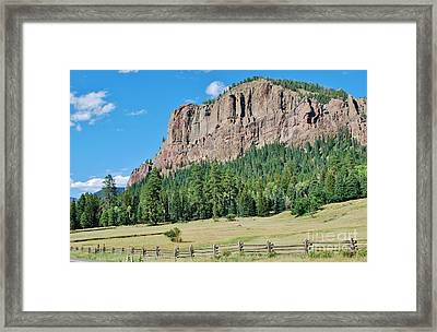 Framed Print featuring the photograph Drive To Wolf Creek by William Wyckoff