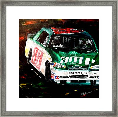 Driven  Framed Print by Mark Moore