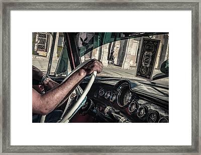 Driver Framed Print