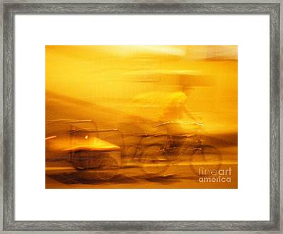 Framed Print featuring the photograph Driver by Lin Haring