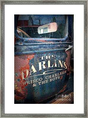 Driver's Side Framed Print by Geri Glavis