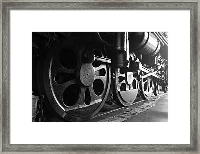 Framed Print featuring the photograph Drivetrain by Brad Brizek