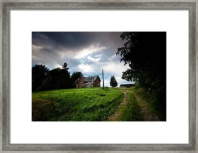 Driveway Home Framed Print by Cale Best