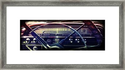 Drivin' Along In My Automobile Framed Print