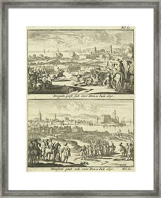 Drogheda And Wexford Surrender, 1690, Print Maker Jan Luyken Framed Print by Jan Luyken