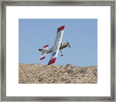 Droid Aircraft Collision Avoidance Tests Framed Print by Science Photo Library